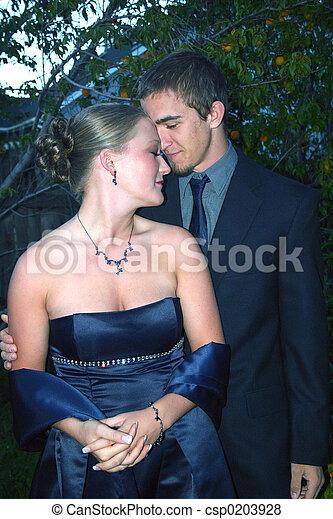 Romantic Young Couple - csp0203928