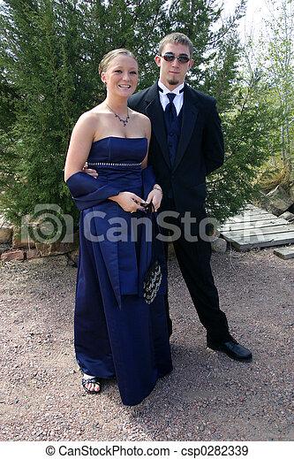 Romantic Young Couple - csp0282339