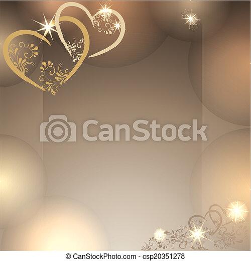 romantischer Hintergrund - csp20351278