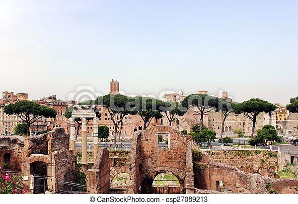 Rome Impressions - csp27089213