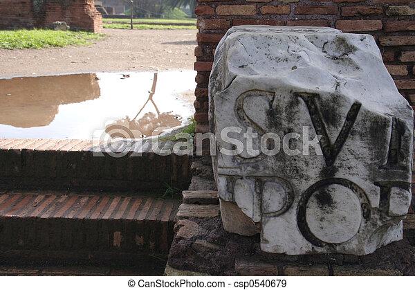 Rome Impressions - csp0540679