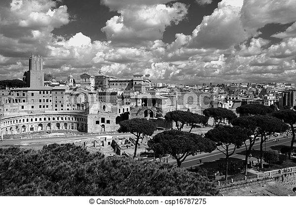 Rome, Italy - csp16787275