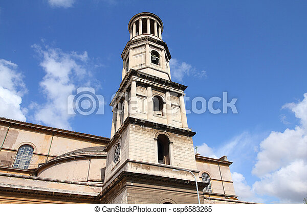 Rome, Italy - csp6583265