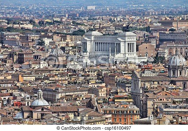 Rome, Italy - csp16100497
