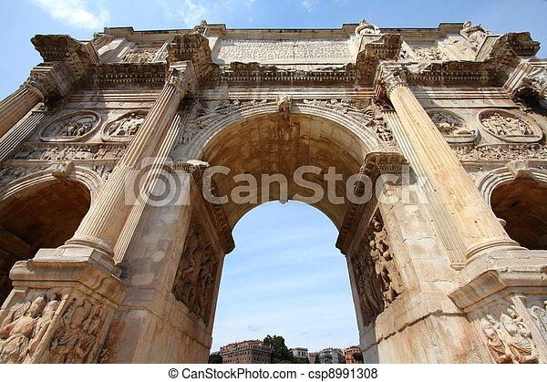 Rome landmark - csp8991308