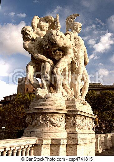 Rome Statue - csp4741815