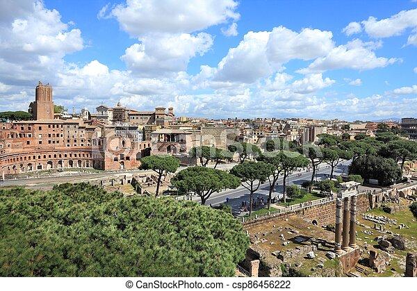 Rome - csp86456222