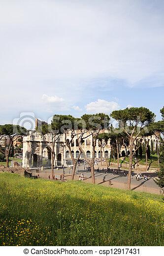 Rome - csp12917431