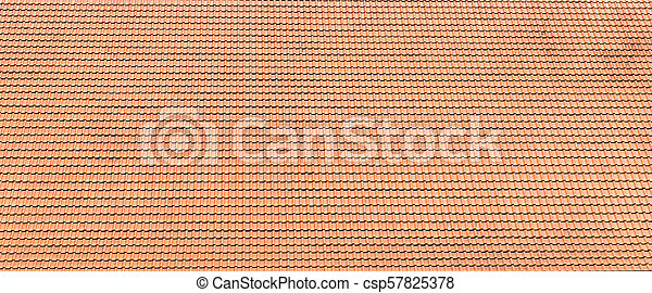 roof background with red tile - csp57825378