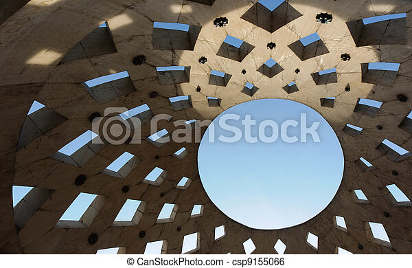 Roof of a building - csp9155066