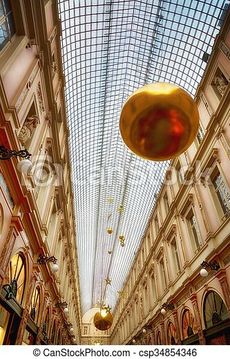 Roof of a building - csp34854346