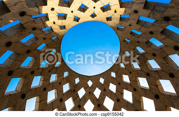 Roof of a building - csp9155042