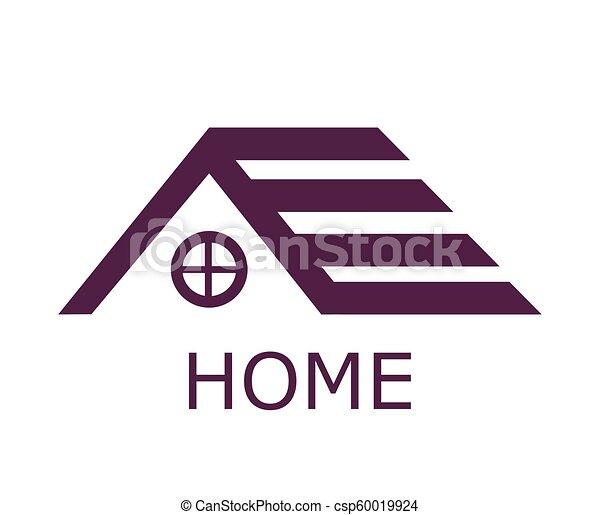 Roof Of House Logo Design