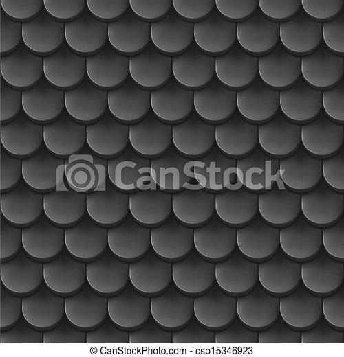Roof tile background. - csp15346923