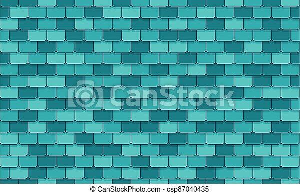 Roof Tiles - csp87040435