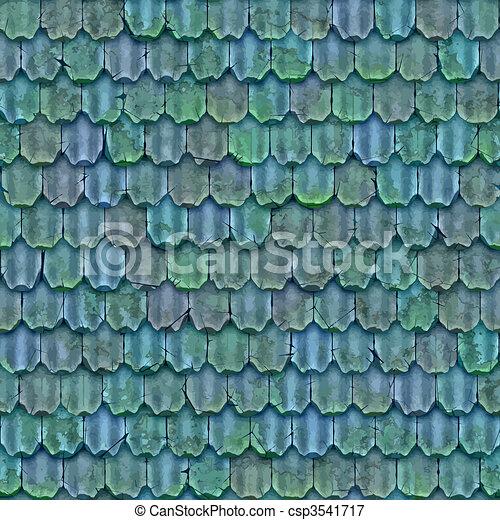 roof tiles - csp3541717