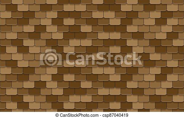 Roof Tiles - csp87040419