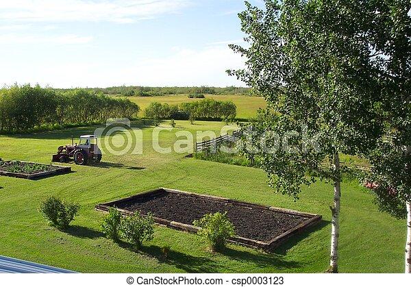 Roof top view - csp0003123