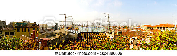 Rooftop Florence - csp4396609