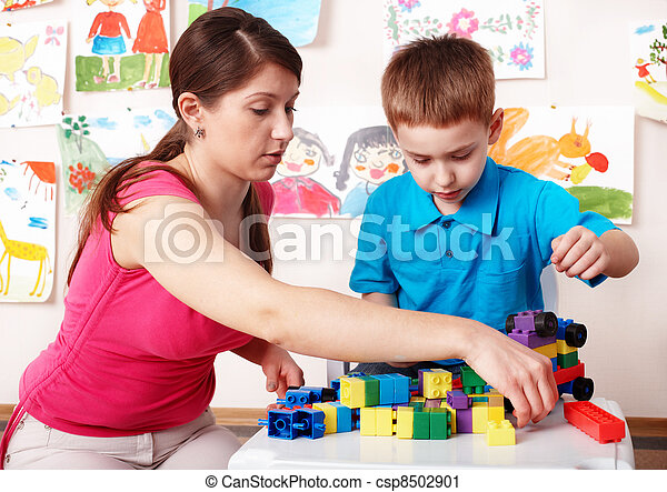 room., プレーしなさい, 建設, 子供 - csp8502901