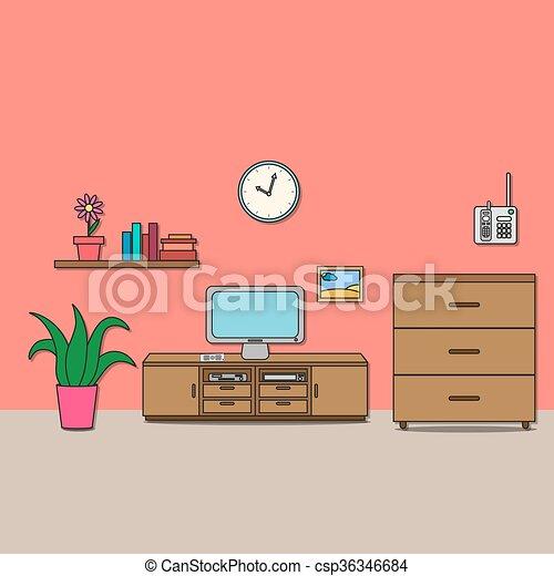 Room disegno stanza seduta stanza cassetti for Disegno stanza