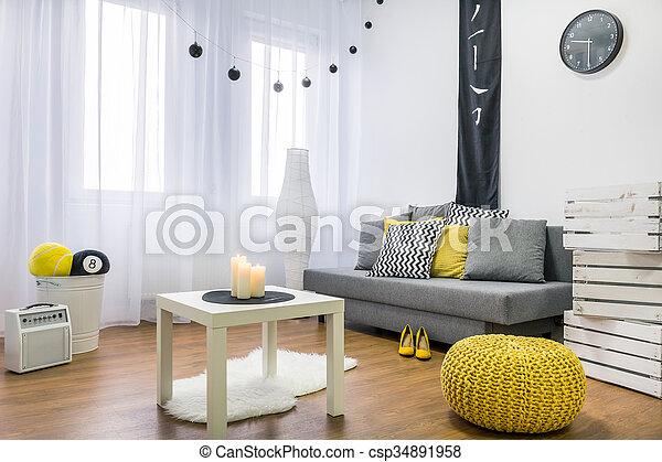Room full of creativeness - csp34891958