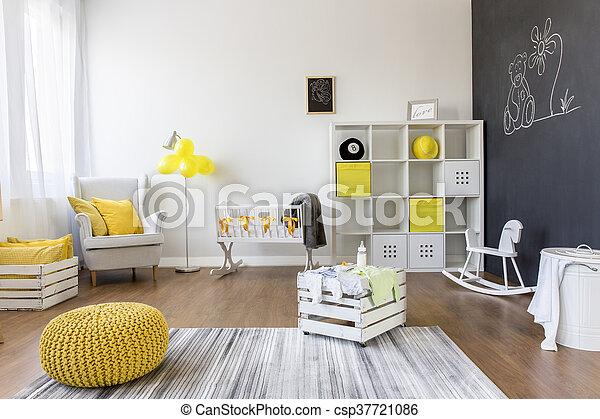 Room full of positive feelings - csp37721086
