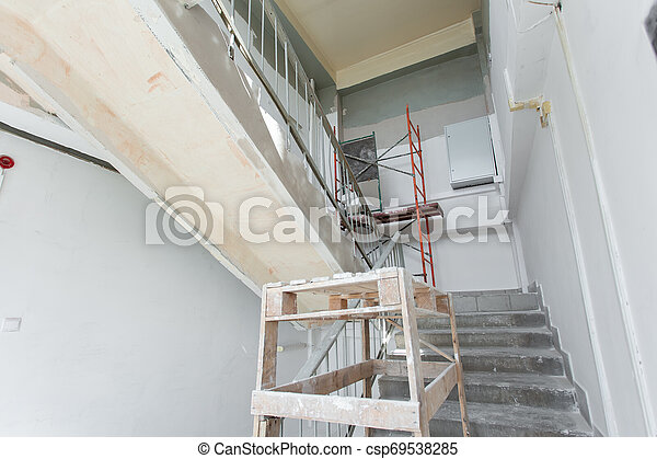 Room is under renovation or under construction. - csp69538285