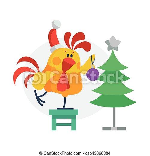 Christmas cock