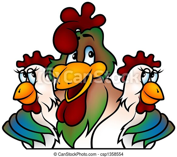 Rooster champion - csp1358554