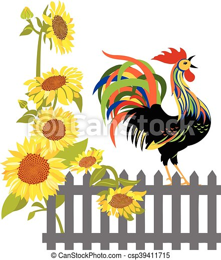 Rooster - csp39411715