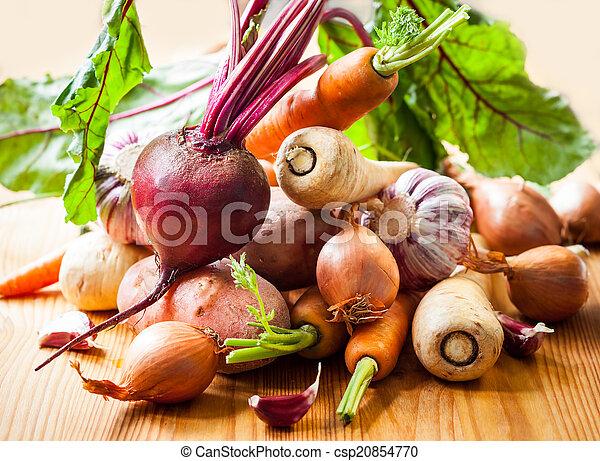 Root vegetables - csp20854770