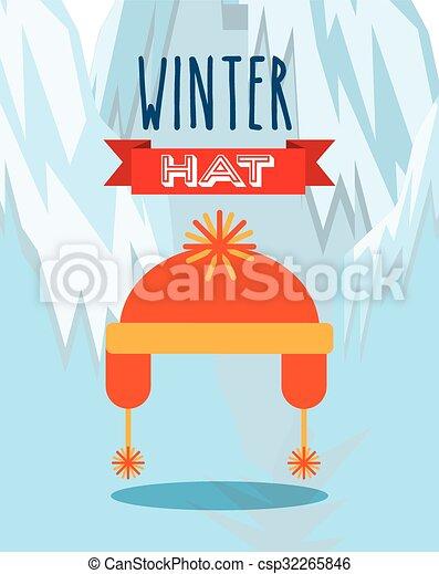 Diseño de ropa de invierno - csp32265846
