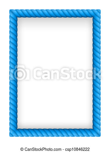 Rope Border - csp10846222