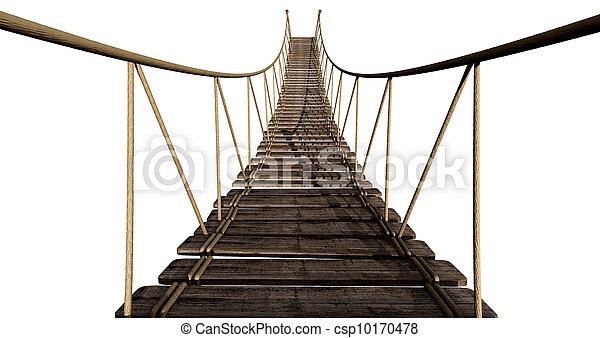 Rope Bridge Close Up - csp10170478