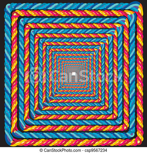 rope-frame-illusion - csp9567234