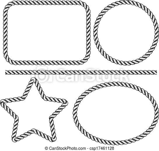 rope frame - csp17461128