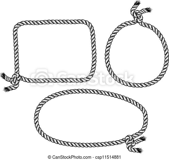 rope knot - csp11514881