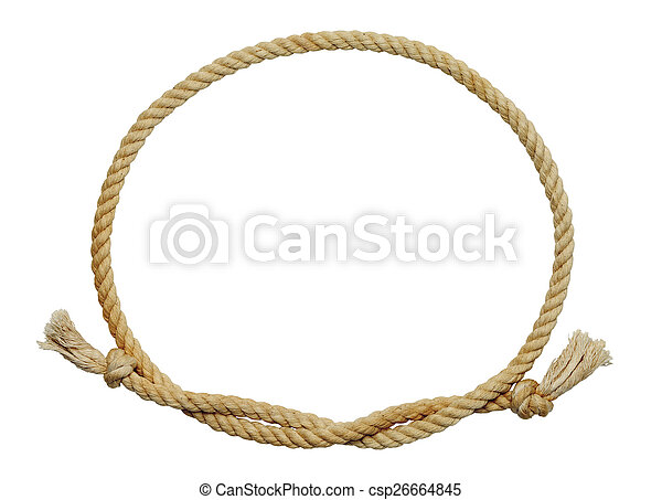 Rope Oval - csp26664845
