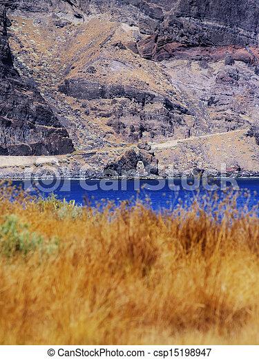 Roque de la Bonanza, Hierro - csp15198947