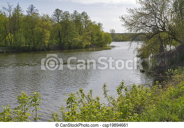 Ros river landscape - csp19894661