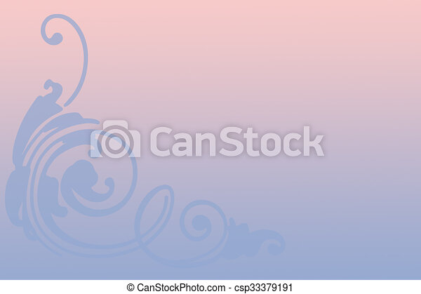 Rosa y azul - csp33379191