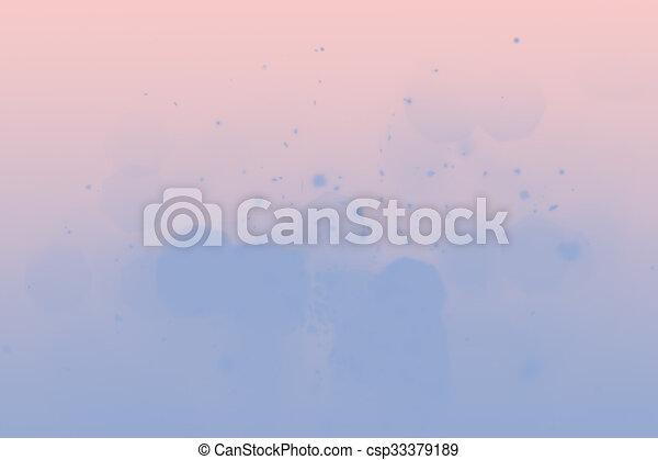 Rosa y azul - csp33379189