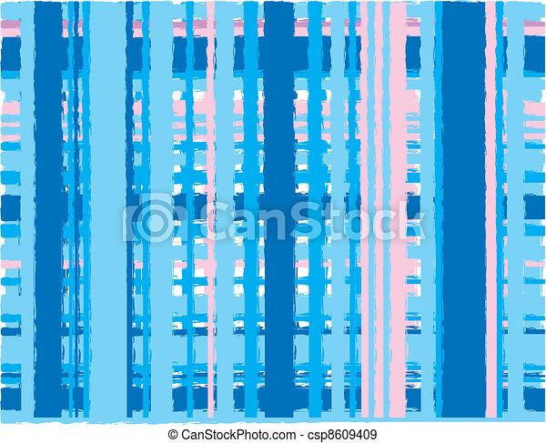 Rosa y azul - csp8609409