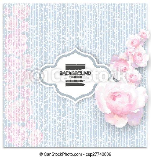 Rosa Blaues Linear Text Aus Abbildung Hintergrund Vektor