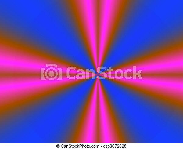 Cruz rosa y azul - csp3672028