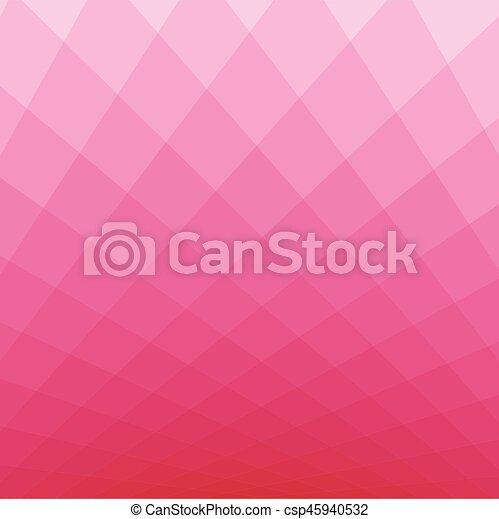 Trasfondo de tono cuadrado rosa - csp45940532