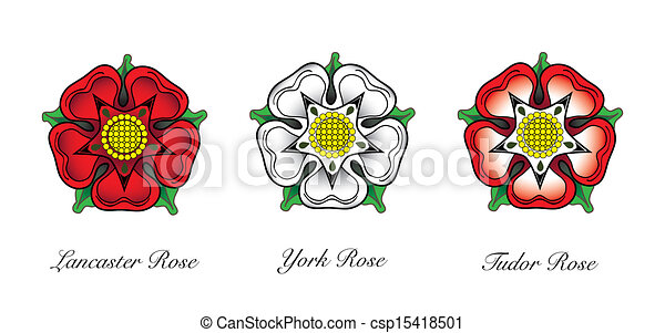 Rosa Emblema Inglês Eps10 Casa Dual Fazer Lancaster Rosa