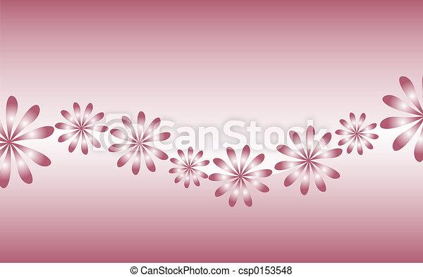Flores rosas - csp0153548