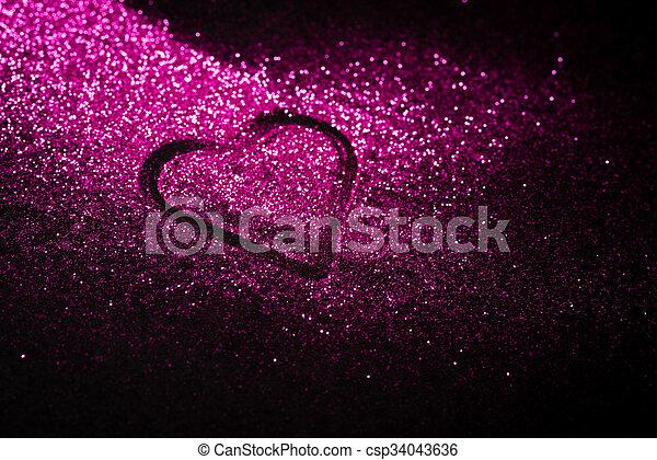 rosa herz kopie glitzer raum rosa herz hat gestaltet space hintergrund schwarz kopie. Black Bedroom Furniture Sets. Home Design Ideas